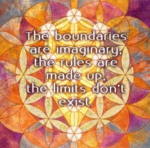 Imaginary Boundaries