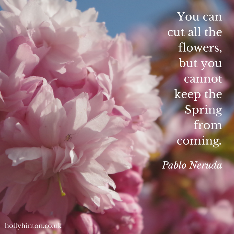 Quotes About Flowers In Spring : Quotes holly hinton notes on living an authentic life